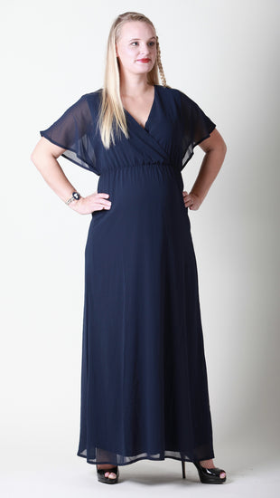 Angeline Maternity Maxi Dress