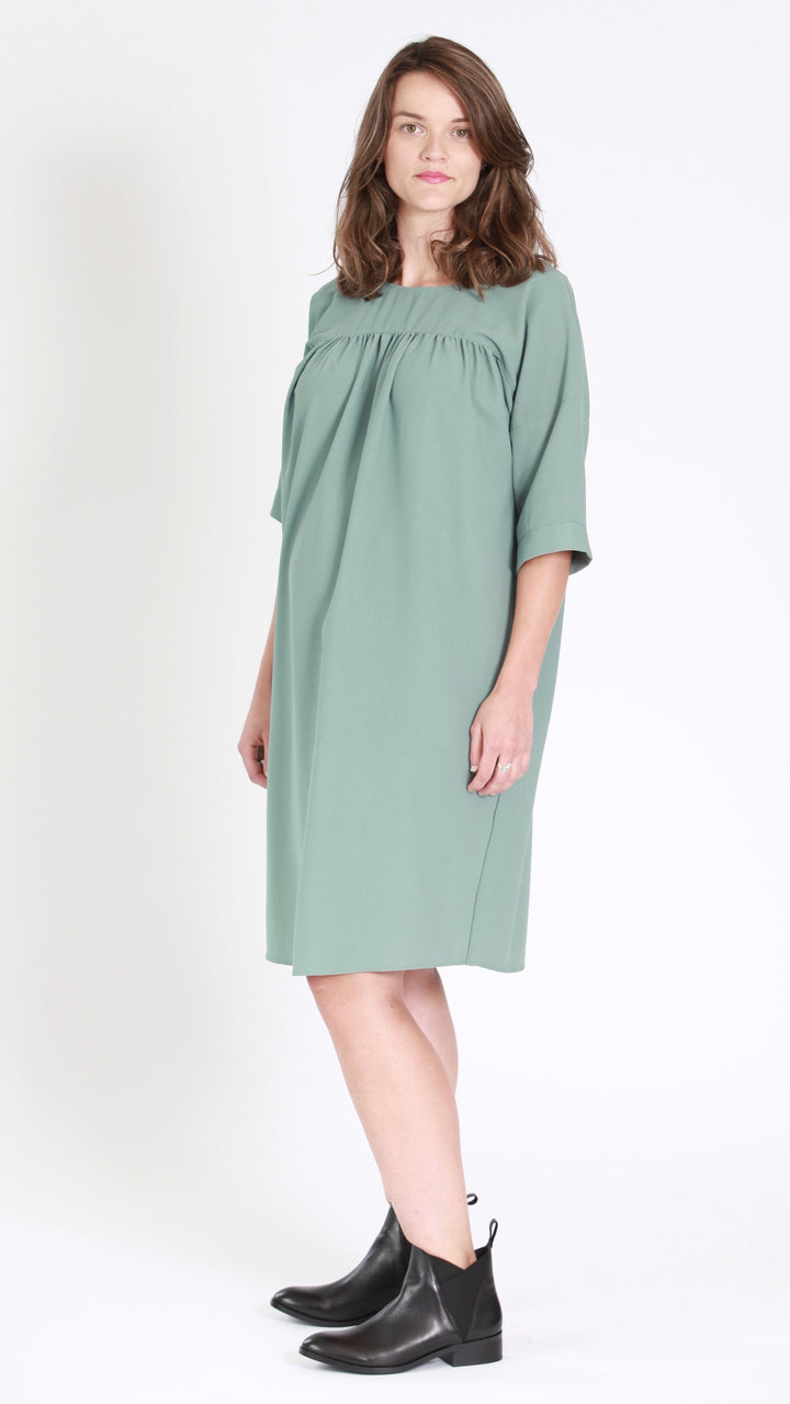 Aria back to front maternity dress egg maternity nz ltd maternity green dress ombrellifo Images
