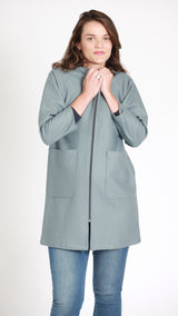Dolca Maternity Zip Coat