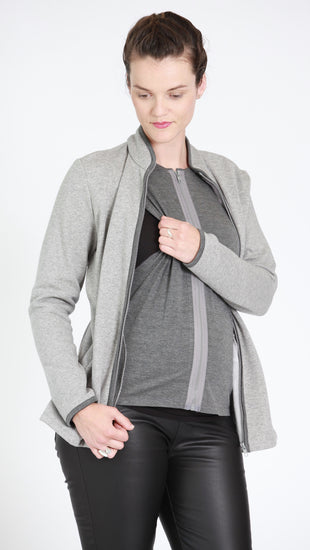 Elisa Nursing Zip Jacket