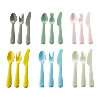 IKEA KALAS 18-piece cutlery set, mixed colours