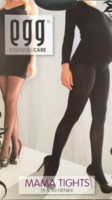 Egg Maternity Over Belly Stockings Black 50 Denier - EGG Maternity NZ Ltd