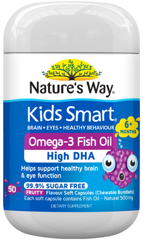 Nature's Way Kids Smart Omega-3 Fish Oil - EGG Maternity NZ Ltd