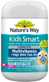 Nature's Way Kids Smart Complete Multivitamin + Fish Oil 50s - EGG Maternity NZ Ltd