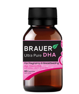 Brauer Pregnancy and Breastfeeding DHA 60 Caps - EGG Maternity NZ Ltd