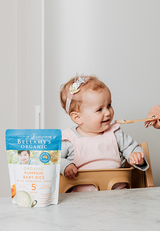 Bellamy's Organic Pumpkin Baby Rice with Prebiotic 5m+, 125g - EGG Maternity NZ Ltd