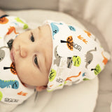 Roar Gumnut Cotton Baby Hat 2pk - EGG Maternity NZ Ltd