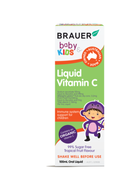Brauer Baby & Kids Liquid Vitamin C 100ml