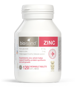 Bio Island Zinc 120 Tablets - EGG Maternity NZ Ltd