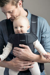 BabyBjorn Baby Carrier Mini Cotton - Black