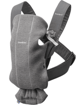 BabyBjorn Baby Carrier Mini 3D Jersey- Dark Grey