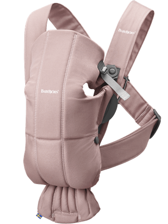 BabyBjorn Baby Carrier Mini Cotton- Dusty Pink