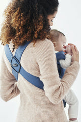 BabyBjorn Baby Carrier Mini Cotton- Vintage Indigo