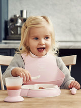 BabyBjorn Baby Dinner Set- Powder Pink