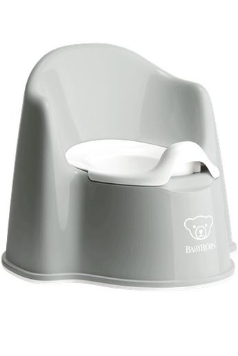 BabyBjorn Potty Chair- Grey
