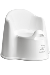 BabyBjorn Potty Chair- White