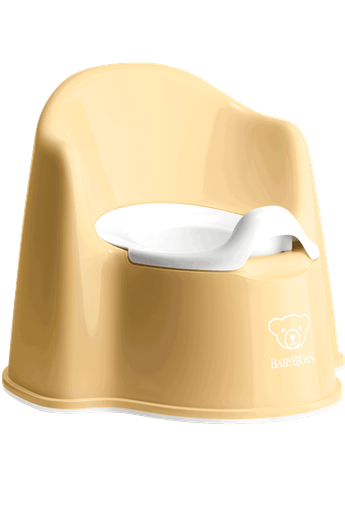 BabyBjorn Potty Chair- Powder Yellow
