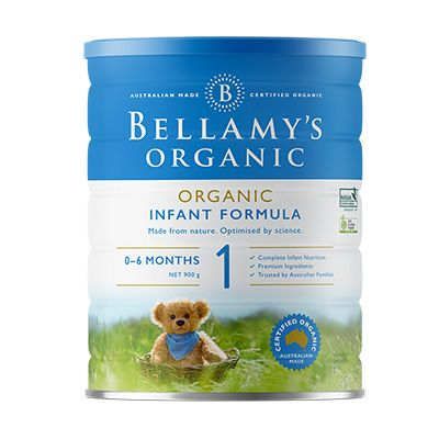 Bellamy's Organic Step 1 Infant Formula 900g