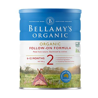 Bellamy's Organic Step 2 Follow-on Formula 900g - EGG Maternity NZ Ltd