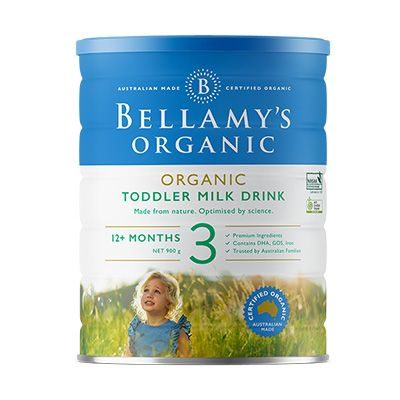 Bellamy's Organic Step 3 Toddler 900g