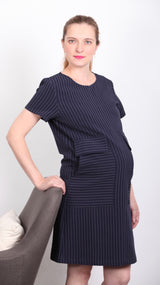 Gabi Breastfeeding Pocket Dress - EGG Maternity NZ Ltd