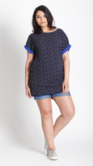 Collette Maternity  Short Sleeves Top