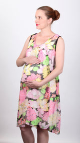 Fleur Floaty Breastfeeding Dress - EGG Maternity NZ Ltd