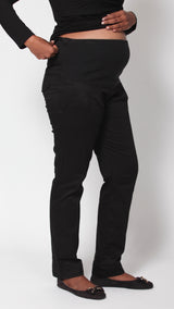 Egg Maternity Straight Leg Cotton Pants