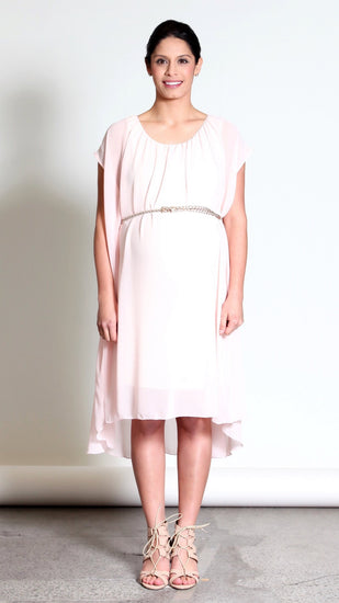 Andria Maternity Belt Dress