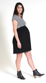 Anna Nursing Pocket Dress - EGG Maternity NZ Ltd