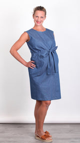 Elina Breastfeeding Zip Dress - EGG Maternity NZ Ltd
