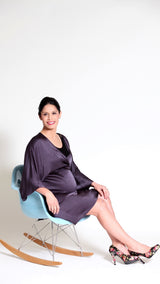 Isabella Breastfeeding Kimono Sleeve Dress - EGG Maternity NZ Ltd