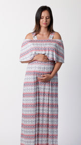 Monica Adjustable Breastfeeding Maxi Dress