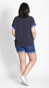 Collette Maternity  Short Sleeves Top - EGG Maternity NZ Ltd