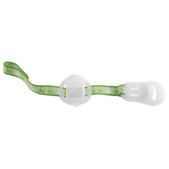 Chicco Soother Clip + Teat Cover- Lumi