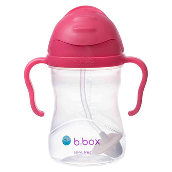 B.Box Sippy Cup V2- Raspberry - EGG Maternity NZ Ltd