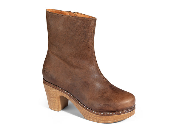 Molly Boot Vintage Nubuk Brown-SAMPLE