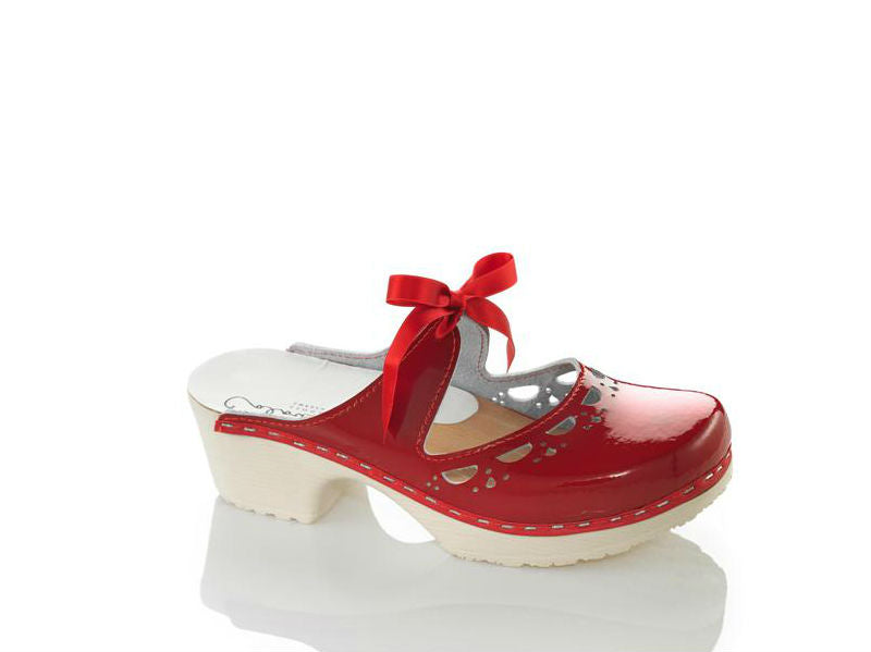 Knyta Red Patent