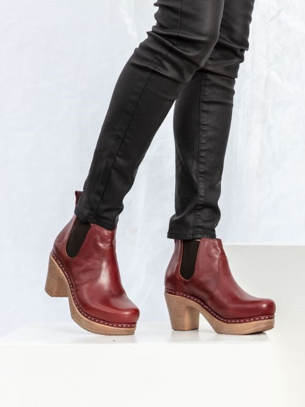 Doris Boot Red-SAMPLE