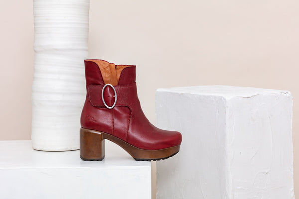 Cia Boot Red
