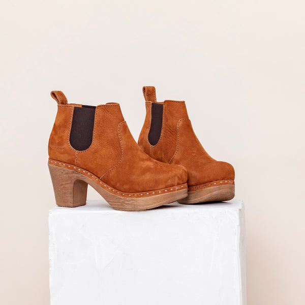 Doris Boot Brandy