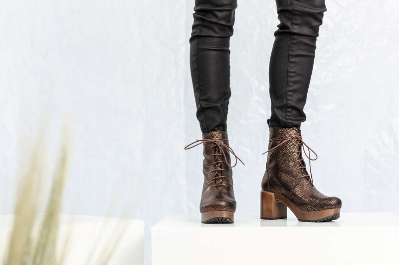 Greta Boot Metallic