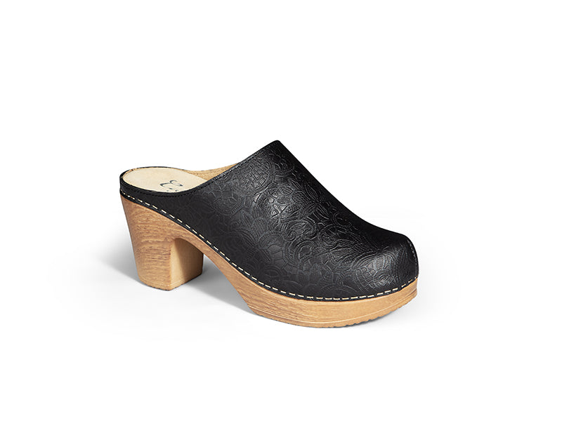 Lisa Embossed Black20