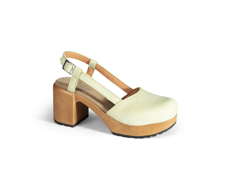 Nelly Lime Nubuck