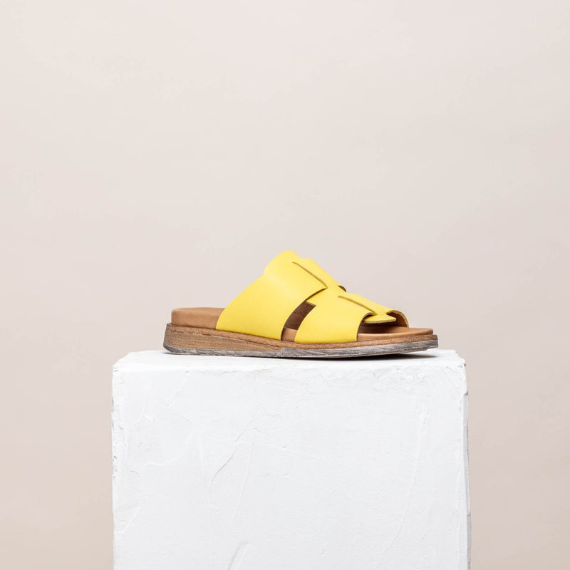 Tess Yellow Sandal