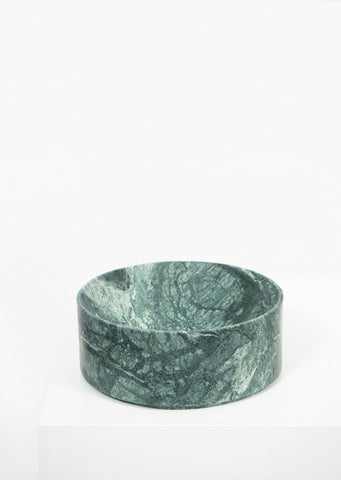 Empress Green Marble Deep Dish - Black Sheep (White Light)