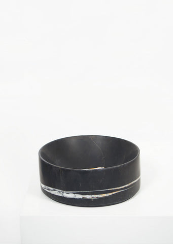 Lauren Black Marble Deep Dish - Black Sheep (White Light)