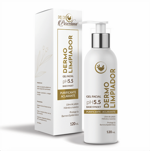 Gel Facial Dermolimpiador 120mL