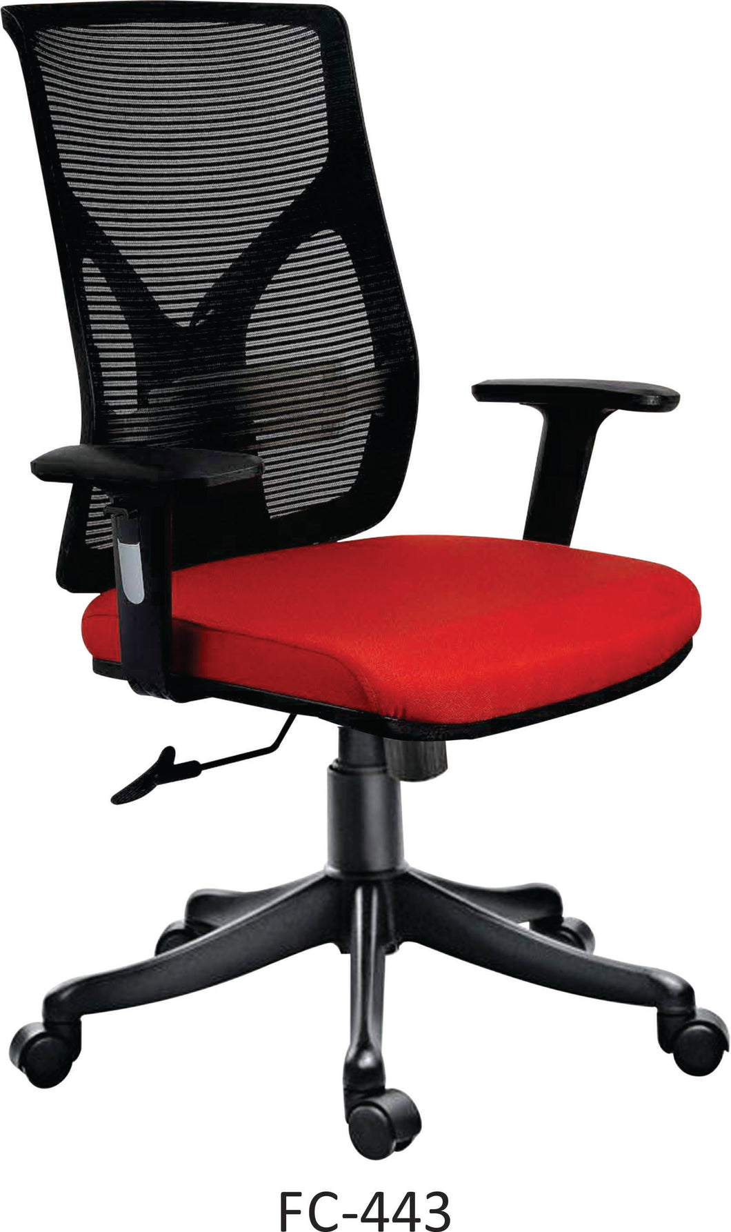 FC443- FALCON Medium Back Mesh Chair