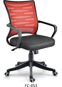 FC453- Zigzag Medium Back Mesh Chair